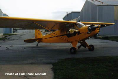 Piper J-3 cub (1/5 scale)